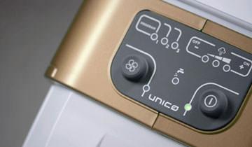 3 встроенные программы чистки паропылесоса Polti Unico MCV85 Total Clean & Turbo