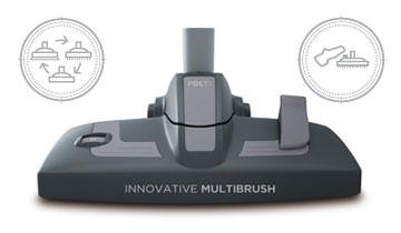 Увиверсальная щетка Multibrush паропылесоса Polti Unico MCV85 Total Clean & Turbo