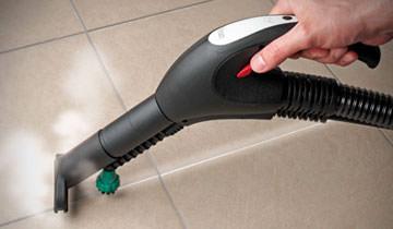 Эффективная чистка межплиточных швов паропылесосом Polti Vaporetto Lecoaspira FAV20